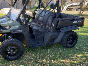 Canam Defender Hd8 2017 Dps Impecable