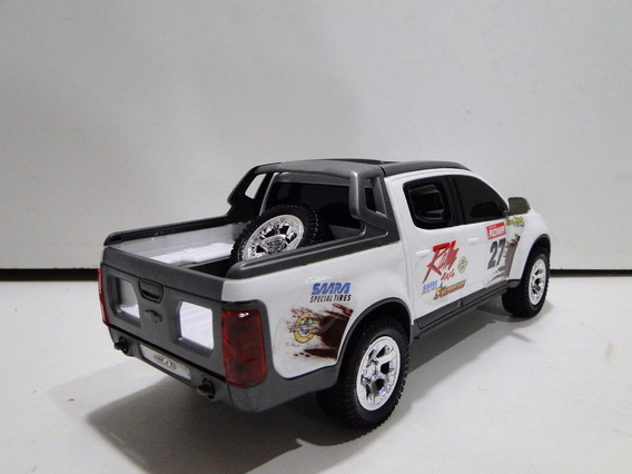 New 31cm Pickup S10 Rally Adesivada Brinquedo Pneus Borracha