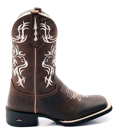 Bota Texana Country Couro Legitimo M2140