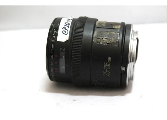 Lente Ef Canon 35-105mm 3.5-4.5 Sucata P/ Retirada De Peças