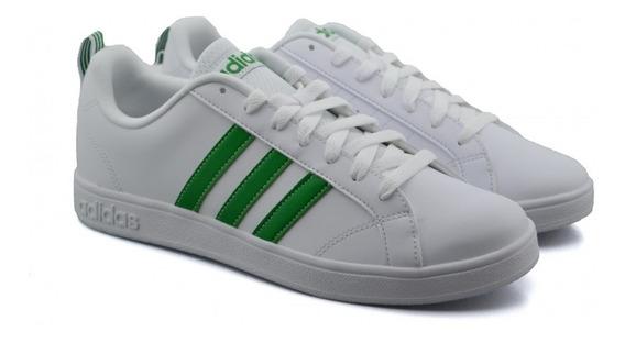 Tenis adidas Advantage Blanco/verde D97609