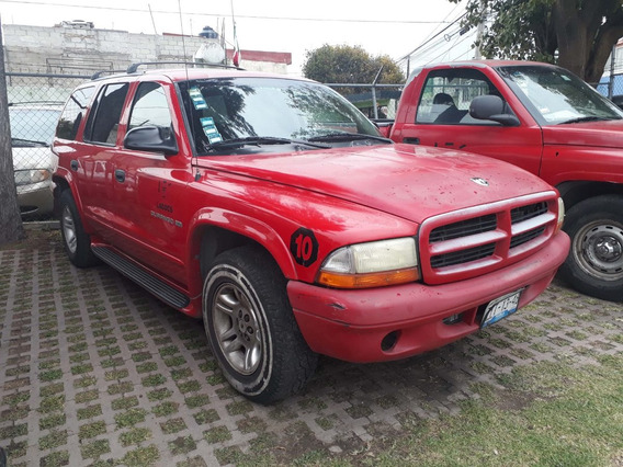 Remato Dodge Durango 2001 Empresa A Tratar Piel 3 Filas