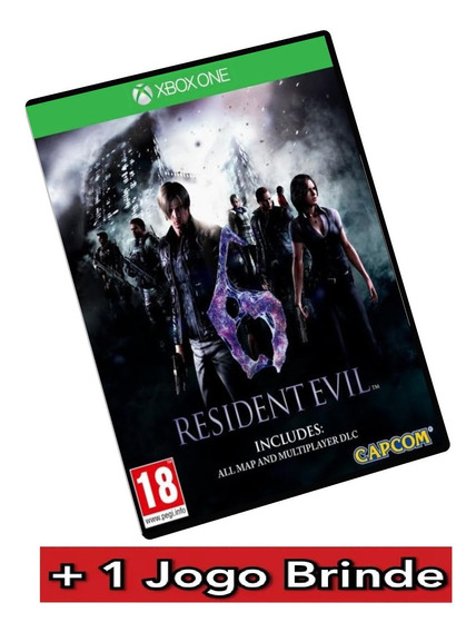 Resident Evil 6 Xbox One Mídia Digital + Brinde
