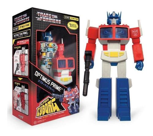 Imagen 1 de 3 de Super Cyborg Transformers - Optimus Prime - Super 7