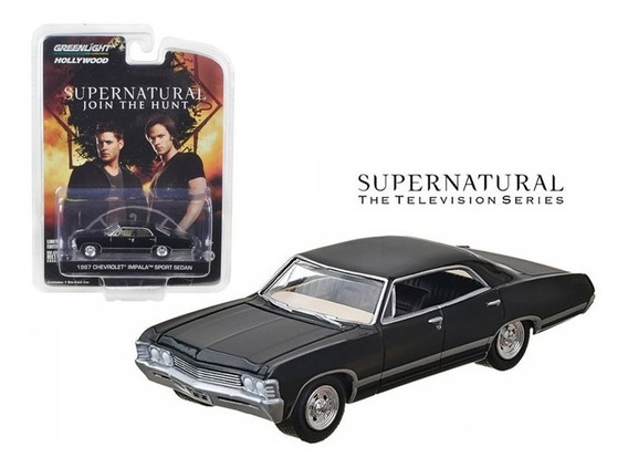 Greenlight Tv Supernatural Chevrolet Impala 1967 Sport Sedan