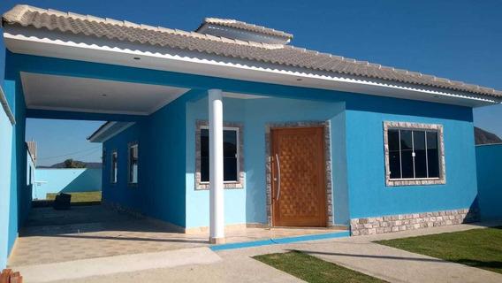 Casa Em Itaipuaçu Com 3 Quartos E Churrasqueira - 508