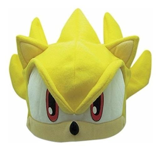 Sonic Boom Gorro Gorra Disfraz Super Sonic The Hedgehog