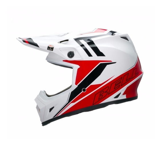 Capacete Bell Mx-9 Barricade Red