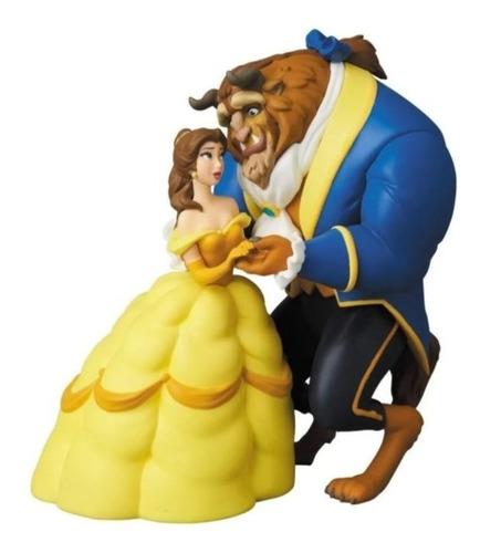 Disney A Bela E A Fera Mini Figura Udf Medicom 10cms