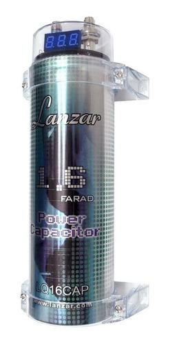 Capacitor Lanzar 1,6 Faradios Display Digital Alta Calidad