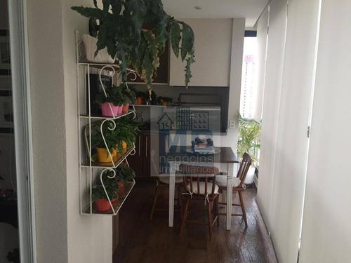Apartamento Com 4 Dormitórios À Venda, 170 M² Por R$ 1.550.000,00 - Santo Amaro - São Paulo/sp - Ap3534