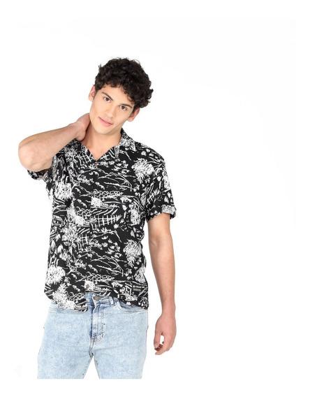 Camisa Vicus Nature Negro