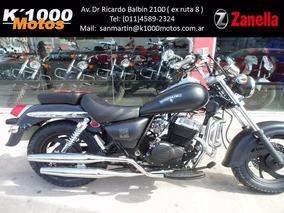 Zanella Patagonian Eagle 250 Black Custom Chopper