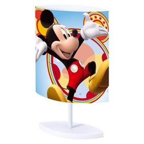 Abajur Luminária Oval Mickey Infantil Mix