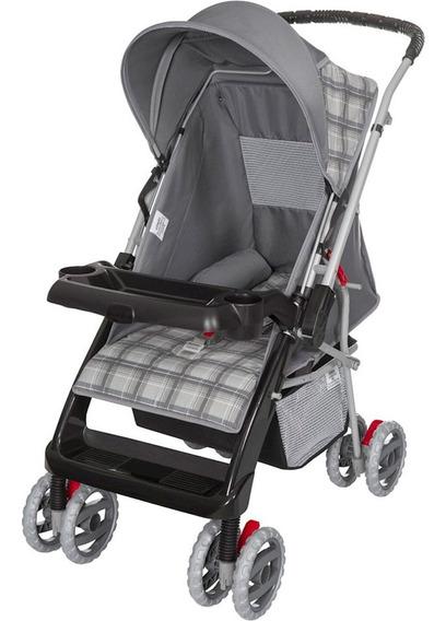 Carrinho De Bebê Tutti Baby Thor - Cinza New