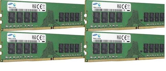 Samsung Memoria 32gb Ecc Reg Ddr4 2400mhz M393a4k40bb1-crc