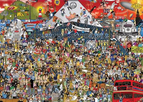 Heye Puzzle 2000 Piezas British Mussic History Supertoys