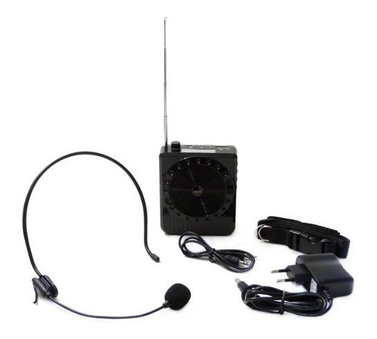 Kit Professor - Amplificador De Voz - Palestras - Boas Bq810