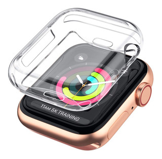 Capa Case Silicone Tpu Apple Watch Serie 4 E 5 De 40mm