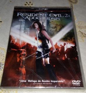 Resident Evil 2 Apocalipsis Dvd