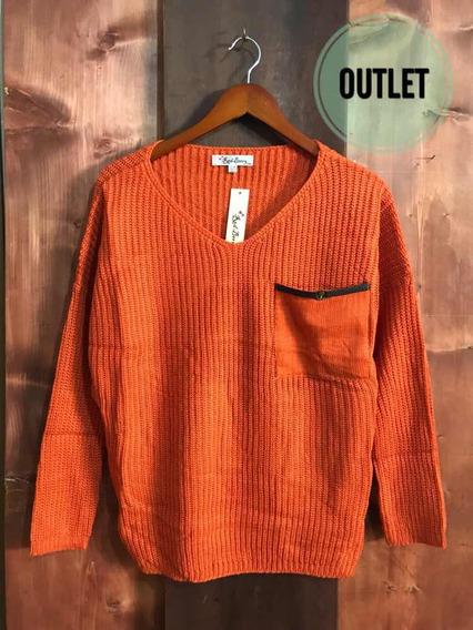 Suéter Naranja