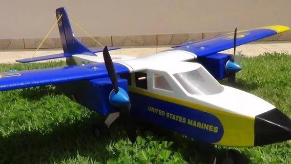 Planta Aeromodelo Bimotor Blue Angel