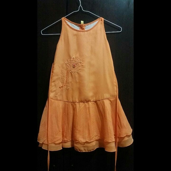 Hermoso Vestido De Fiesta Para Niña Talla 6 Como Nuevo