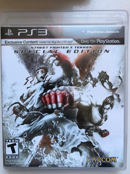 Street Fighter X Tekken Special Usado Mídia Física Ps3