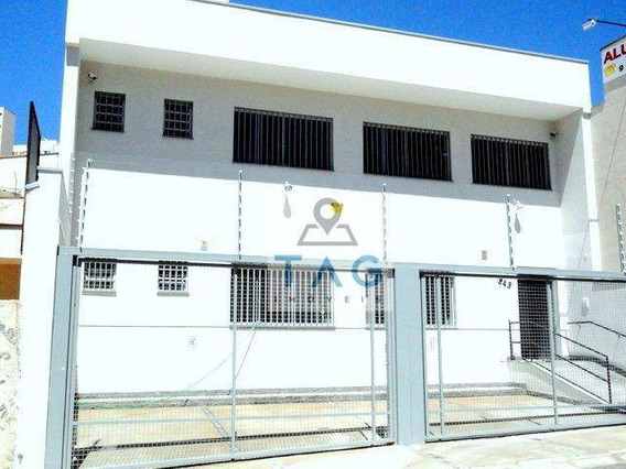 Salão Comecial Para Aluguel 390 Metros Quadrados No Botafogo Campinas-são Paulo - Ga0006