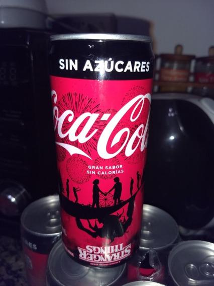 Lata De Coca Cola Stranger Things Edición Limitada X Unidad