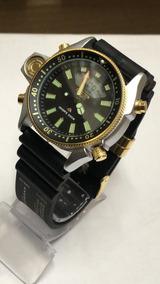 Relógio Masculino Aqualand Jp2004-07e Série Ouro