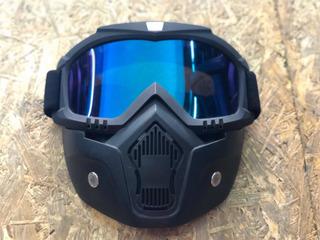 Máscara Desmontable Para Motocicleta Envió Gratis