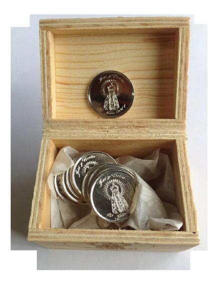$1,500 Arras Plata Ley .300 Virgen Soledad A Su Gusto / Caja