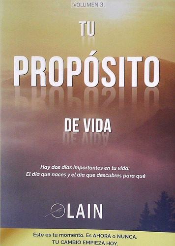 Tu Proposito De Vida- Garcia Calvo, Lain