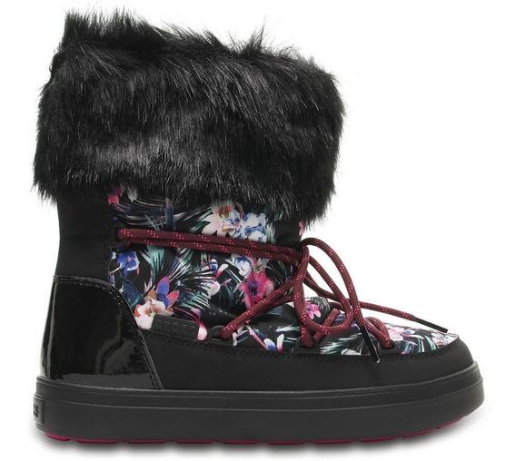 Botas Crocs Abrigo Lodgepoint Lace Boot W Tropical/black