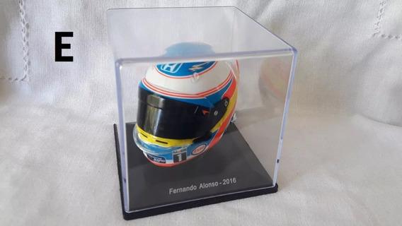 Casco Colección Grandes Premios F Alonso Nro. 5 Con Detalle
