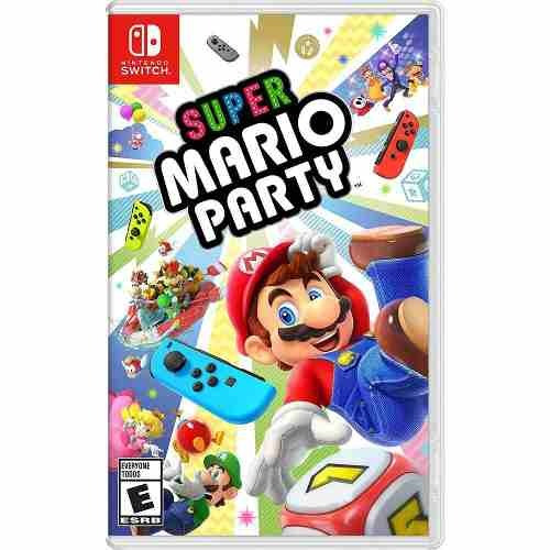 Super Mario Party - Nintendo Switch Midia Fisica