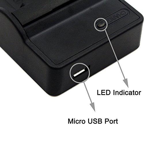 Bater/ìa Cargador USB//Coche//Corriente EN-EL8 para Nikon Coolpix P1 P2 S1 S2 S7 S8 S9 S50c S51.Ver Lista
