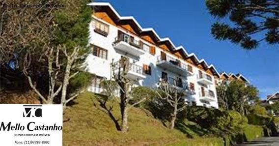 Apartamento Para Venda Em Campos Do Jordão, Morro Do Elefante, 3 Dormitórios, 1 Suíte, 3 Banheiros, 2 Vagas - 1000664_1-915231