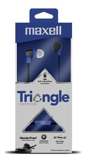 Audifono Con Microfono Maxell Triangle Nuevo