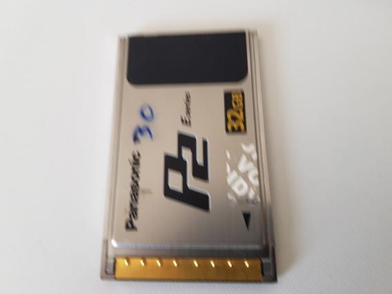 Cartão Memória P2 P/ Filmadora Panasonic Tipo P2 32 Gigas