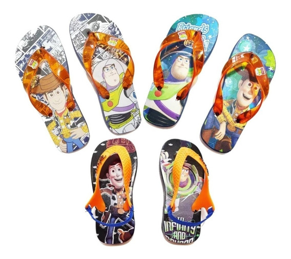 Sandalias Toy Story Disney Ojotas Oficial Ct Mmk Ojod