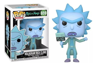 Funko Pop! -| Rick And Morty - Rick Clone Hologram 659