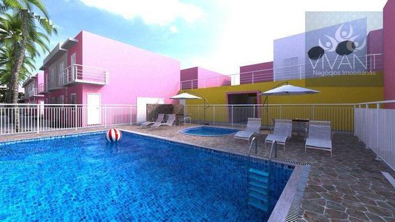 Sobrado Com 2 Dormitórios À Venda, 71 M² Por R$ 200.000 - Jundiapeba - Mogi Das Cruzes/sp - So0163