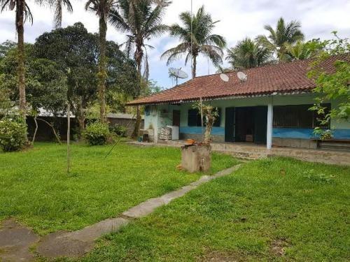 Chácara No Litoral Com 3 Quartos Em Itanhaém 4728-pc