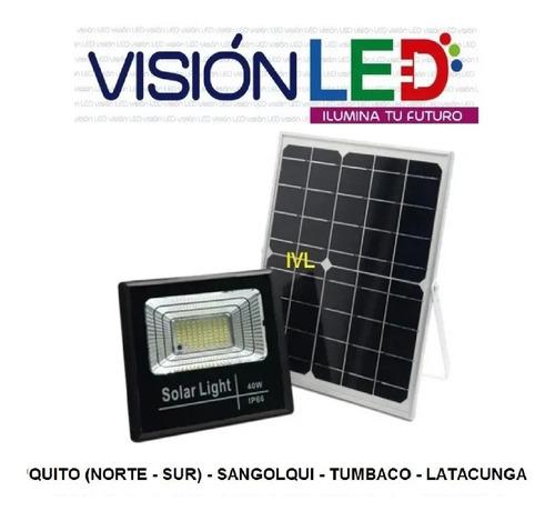 Reflector Led Panel Solar 20w 40w 60w 100w 200w + Control