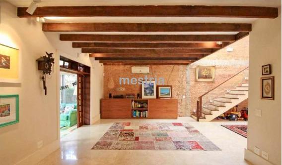 Casa Totalmente Reformada Na Vila Madalena! Com Espaço Gourmet! - Di34883