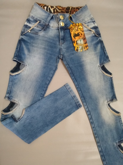 Calça Afront Jeans Estilo Pitbull Levanta Bumbum Tamanho 44