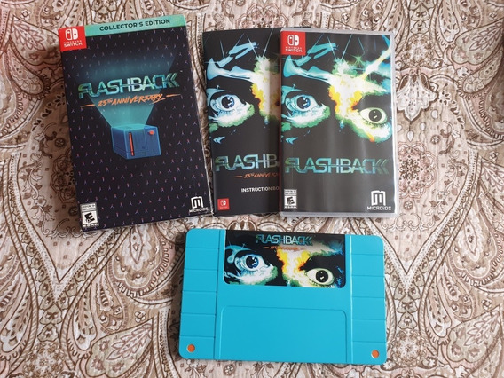 Jogo Flashback 25 Aniversario - Nintendo Switch - Na Caixa