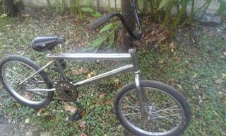 Bicicleta Bmx Cromada